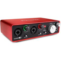Focusrite Scarlett 2i2 (2nd Gen) USB Audio Interface with Pro Tools | First         -- Click image for more details. (This is an affiliate link and I receive a commission for the sales)
