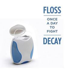 floss to fight decay