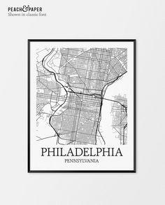 Philadelphia map art print philadelphia city map of philadelphia philadelphia map art print philadelphia city map of philadelphia art poster of pennsylvania state m city map art pinterest philadelphia map freerunsca Gallery