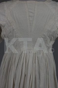A whitework embroidered open robe, circa 18th Century Clothing, 18th Century Fashion, Embroidered Gowns, Condition Report, Historical Clothing, Georgian, Toddler Outfits, Dressmaking, Gowns