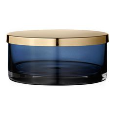 top3 by design - AYTM - tota large cylinder with lid navy brass