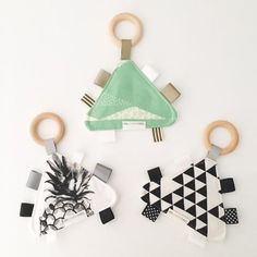 Taggy Teether - Exclusive to ONE.CHEW.THREE