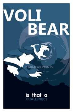 Volibear League of Legends Print by pharafax on Etsy, $16.00