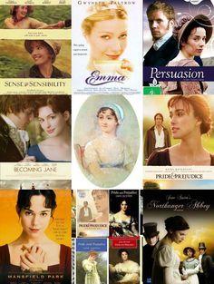Happy 236th birthday, Jane Austen!! (The best movies come from Jane Austen books.)