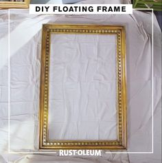 I-Do-It-Yourself. Take your DIY wedding photo booth to the next level with this spray painted floating picture frame. I-Do-It-Yourself. Take your DIY wedding photo booth to the next level with this spray painted floating picture frame. Floating Picture Frames, Floating Frame, Big Picture Frame Ideas, Painting Picture Frames, Diy Wedding Photo Booth, Wedding Photos, Diy Photo Booth Backdrop, Photo Booth Party, Diy Photobooth Frame