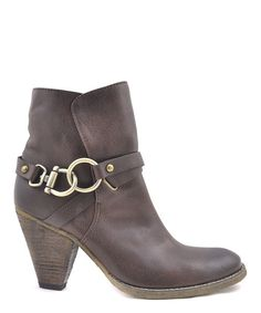 This Brown Rido Booties by VOLATILE is perfect! #zulilyfinds