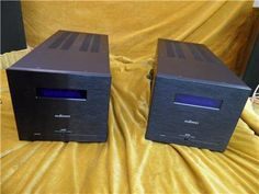 Audionet AMP Monoblock Power Amplifiers, used, for sale secondhand