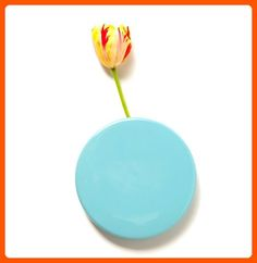 Chive Wall Dot Sky Blue Vase - Fun stuff and gift ideas (*Amazon Partner-Link)
