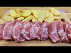 Συνταγή κρέατος και πατάτες για μια ειδική συνταγή για ένα υπέροχο δείπνο # 287 - YouTube One Pot, Special Recipes, Pork Chops, Pork Recipes, Sausage, Dinner Recipes, Nutrition, Meals, Inspiration