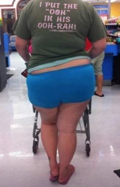 """I Put the """"Ooh"""" in His Ooh-Rah --Walmart Wives - Funny Pictures at Walmart"""