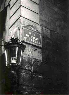PARIS.....1950.....PHOTO DE ROBERT DOISNEAU.........SOURCE MIMBEAU.TUMBLR.COM......