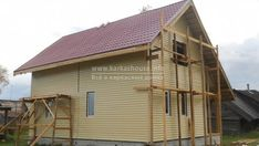 Каркасный дом своими руками: инструкция, важные моменты Homemade Sauna, Diy And Crafts, Outdoor Structures, Projects, Walls, Cottage House Designs, Modern, House, Log Projects