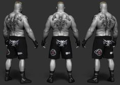 ArtStation - Brock Lesnar done for WWE, Hossein Diba Brock Lesnar Ufc, Zbrush, James Faulkner, Wwe Brock, 3d Anatomy, Wwe Champions, Daniel Craig, John Cena, Wwe Superstars