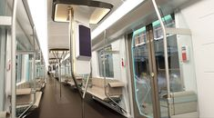 Siemens BMW DesignWorks Metro Inspirto Public Rail Cars