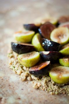 Figs & Nutty Crumble Galette