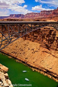 Navajo Bridge over the Colorado River, Marble Canyon, Arizona