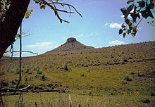Uruguay - Cerro Batoví, en el Departamento de Tacuarembó