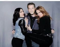 Rebecca, Lana, Sean. robin looks so done right here lol