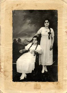 Luz Mendez (seated) and her cousin Rosalia, ca. early 1920s. Luz Mendez was the daughter of Antonio Regalado Calvo (1900-1973) and Maria de la Luz Mendez Calvo (1896-1982), who immigrated from Mexico during the Revolution and owned a Mexican restaurant, Las Delicias Café in the city of San Fernando. They had four children and were active in the Santa Rosa parish, a Catholic Church in San Fernando. Antonio and Luz (Mendez) Calvo Family Collection. San Fernando Valley History Digital Library.