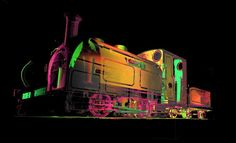 Laser Scanner Preserves Train History With Precisely Printed Models Train Light, Point Cloud, Model Trains, Locomotive, England, Things To Come, Clouds, History, World