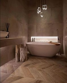 The spa like bathroom design ideas we found has got some different features you can include, all you need is to select your favorites, pin them and save them for when you are looking to design your new bathroom. There are plenty to pick from, from ceiling showers to nice, isolated, bathtubs, you can give your new bathroom the feeling of fanciness and an entirely put-together look. After deciding which fixtures you want to feature, all you need is completing the look with nice towels...