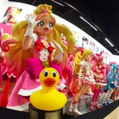 Throwback Thursday to last year when Duckie cruised through the museum of anime at the Toei Kyoto Studio Park . I just realized that I've got many more Japan pics to post so thank goodness for #tbt and flashback Friday! by duckiegoes