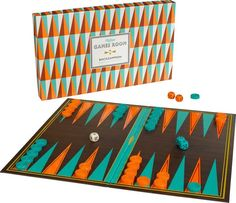 Ridley's Backgammon by Cursive, $25; ABC Carpet & Home