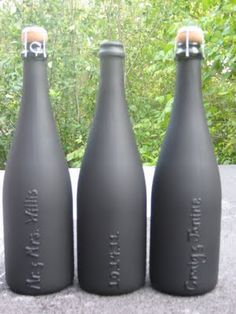 This is a DIY gift, but it's super easy and relatively cheap. Pick up your favorite bottle of bubbly (easy to find a good one under $15), scrub off the label, use puff paint to personalize your bottle, and then use chalkboard paint over the top. Voila! A gift that looks very expensive and fancy for under $25.