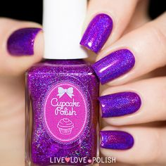 Cupcake Polish Berry Good Looking Nail Polish (PRE-ORDER | ORDER SHIP | Live Love Polish