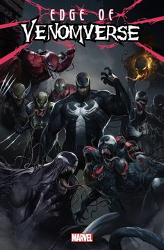"""sent me a link to Bleeding Cool article about Marvel's new project. First things first, because it has to be said: Okay, now seriously: """"Edge Of Venomverse is a new mini-series spinning out of the Venom series, with a Marvel. Comic Movies, Comic Book Characters, Marvel Characters, Comic Character, Comic Books Art, Comic Art, Movie Tv, Fictional Characters, Marvel Venom"""