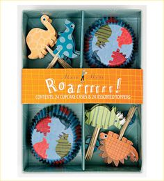 I'm planning a dinosaur party and these are pretty dang cute!
