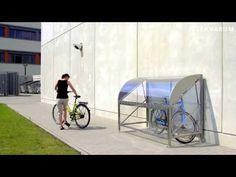 Fahrradbox CERVARUM für 1-2 Räder