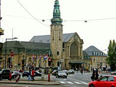 Estação de Luxemburgo. ◆Luxemburgo – Wikipédia http://pt.wikipedia.org/wiki/Luxemburgo #Luxembourg