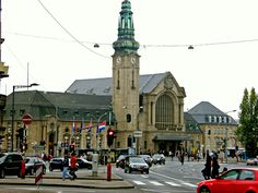 Railway station, Luxembourg