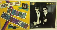Blues Brothers Lot of 2 Vinyl Record Albums - Best of & Briefcase full of Blues #SingerSongwriter