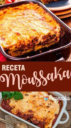 Receta de moussaka