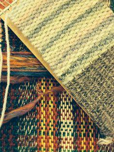 Craft fair weaving.