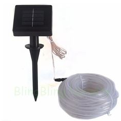 2015 Hot holiday decoration neon tube lights waterproof solar power led string lights10 meters length with 100 LEDs
