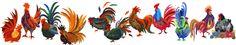 Reginald Rooster Applique Quilt Pattern by Florine Johnson Designs