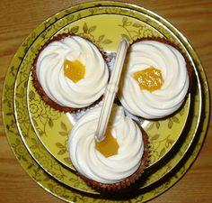 Môj sladký život v Koláčikove: Melónové kapkejky s citrónovým krémom Cupcakes, Panna Cotta, Cheese, Ethnic Recipes, Food, Cupcake Cakes, Dulce De Leche, Essen, Meals