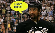 Georges Laraque Calls Out The Penguins' Decision To Visit The White House Famous Vegans, Vegetarian Protein, Penguin S, Riding Helmets, My Love, Sports, House, Hs Sports, Home