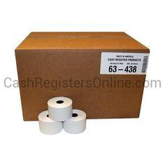 44mm x 165' Bond Paper - 100 rolls
