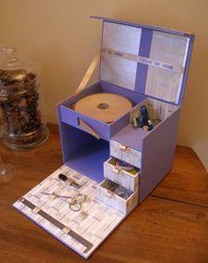 an homemade storage