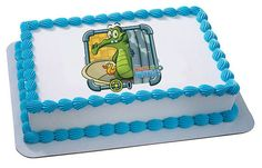 Disney's Where's My Water Swampy & Ducky EDIBLE Image Cake Cupcake Topper Personalized LICENSED