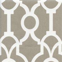 Lyon Backdrop Ecru Contemporary Drapery Fabric by Premier Prints