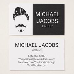 #salon - #Barber Barbershop Hair Stylist Beard Business Card