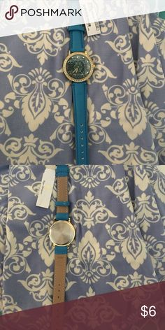 Turquoise watch New from charming Charlie. Paisley design. Charming Charlie Accessories Watches