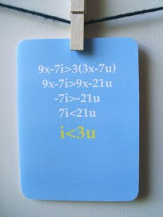 Nerd Love Card  Love Equation by 4four on Etsy, $4.00