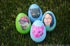 The Swell Life: Pop Art Photo Easter Eggs
