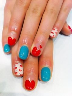 Lovely Nail Art Designs for 2012 - The new season is all about style and the easiest way to accentuate your uniqueness and fashion-forward personality is to turn towards fabulous and trendy nail art designs. Check out the following styles and draw inspiration for your next manicure!
